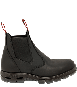 Redback Men's Bobcat 6 Inch Steel Toe Black Work Boot