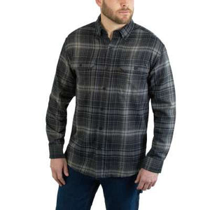 Wolverine W1201970-031 Mens Onyx Plaid Flannel
