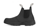 Work Zone #N660  Men's Slip On Work Boot Black