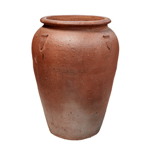imported vietnam black clay tall pickle jar