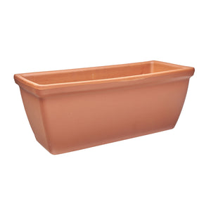 imported italian clay plain rectangle