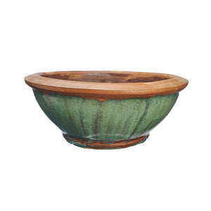 imported chinese rustic water bowl