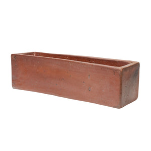 imported vietnam black clay no rim rectangle