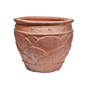 imported vietnam black clay harvest moon pot