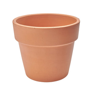 imported italian clay drop pot