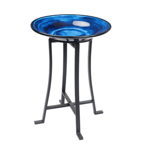 imported vietnam glaze bird bath