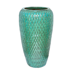 Glaze Tall Deco Round Jar