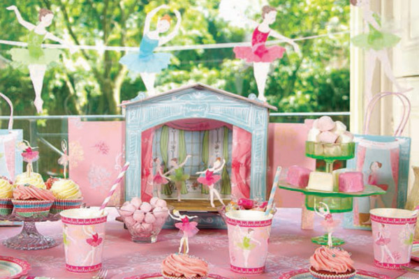 Buy Ballerina Party Supplies Online at Build a Birthday NZ