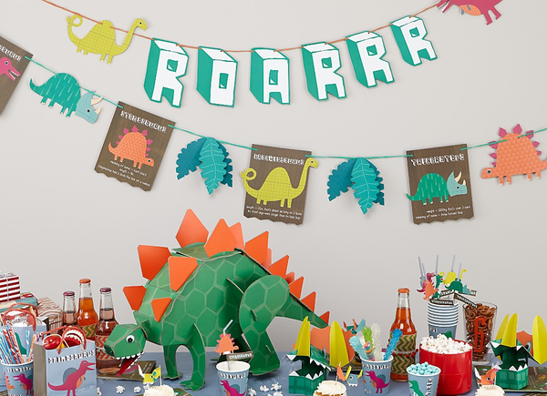 Buy Dinosaur Party Supplies Online at Build a Birthday NZ