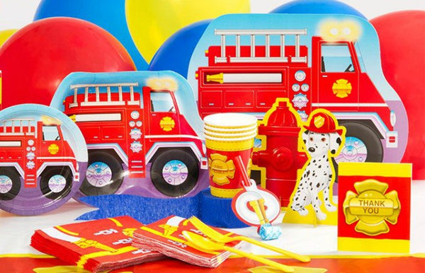 Fireman Party Build A Birthday