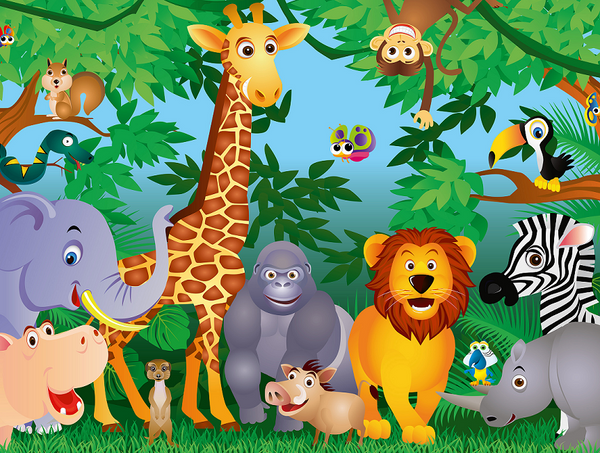 Buy Jungle Safari Animal Party Supplies Online At Build A