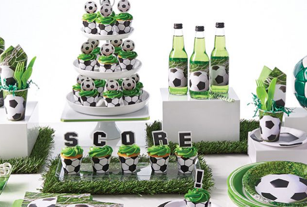 Buy Soccer Party Supplies Online At Build A Birthday NZ