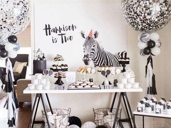 Buy Zebra Print Party Supplies Online At Build A Birthday Nz