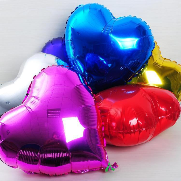 Uninflated Shape Foil Balloons