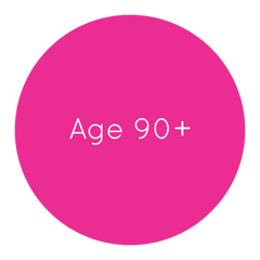 Age 90 & Over Balloons
