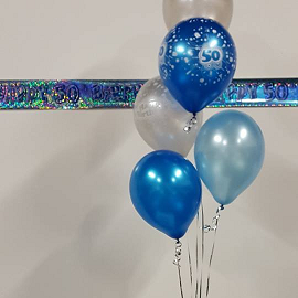Helium Filled Age Latex Balloons