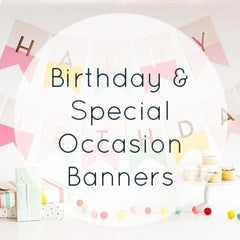 Birthday & Special Occasion Banners
