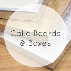Cake Boards & Boxes