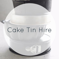 Cake Tins for Hire