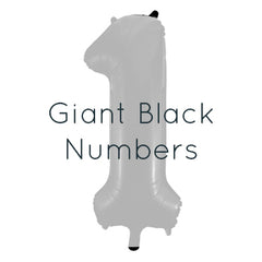 Giant Black Numbers