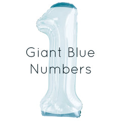 Giant Blue Numbers
