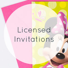 Licensed Invitations