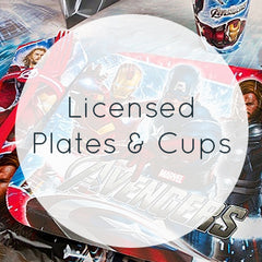 Licensed Plates & Cups