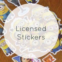 Licensed Stickers