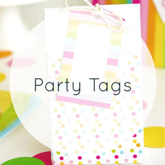 Party Bag Tags