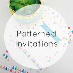 Patterned Invitations