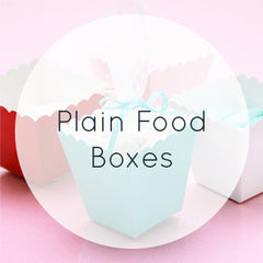 Plain Food Boxes