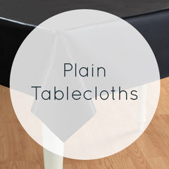 Plain Tablecloths