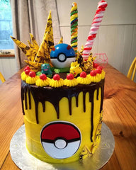 Pokemon Drip Cake