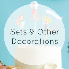 Cake Toppers Sets & Other Decorations