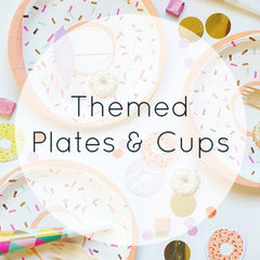 Themed Plates & Cups