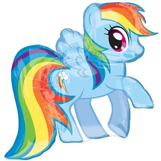 My Little Pony Rainbow Dash Shape Foil Balloon
