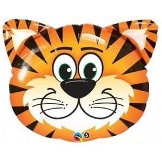 Qualatex | Tiger Foil Balloon | Jungle Animal Party Theme & Supplies