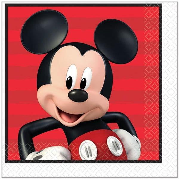 Mickey Mouse Napkins | Mickey Mouse Party Supplies