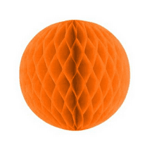 Orange Honeycomb ball