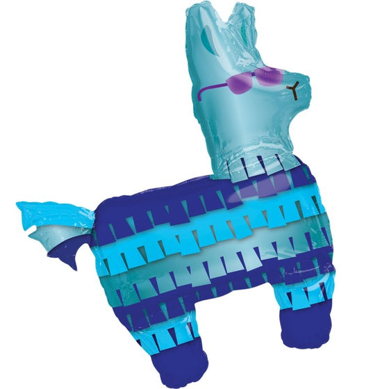 Battle Royal Llama SuperShape Foil Balloon | Fortnite Party Theme & Supplies | Anagram