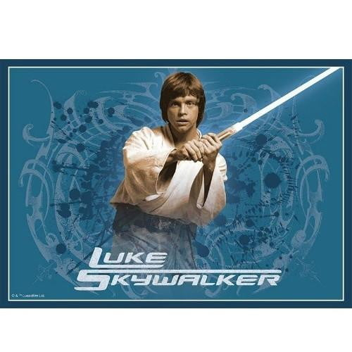 Star Wars Luke Skywalker Edible Cake Image - A4 Size | Star Wars Party Theme & Supplies