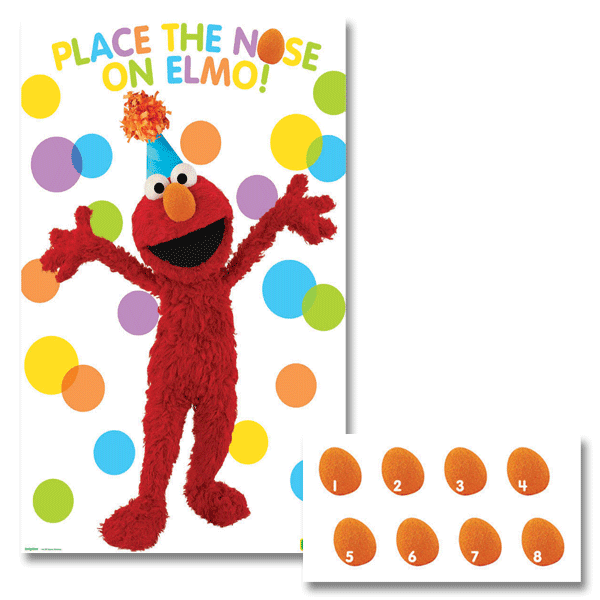Sesame Street Game | Sesame Street Party Theme and Supplies