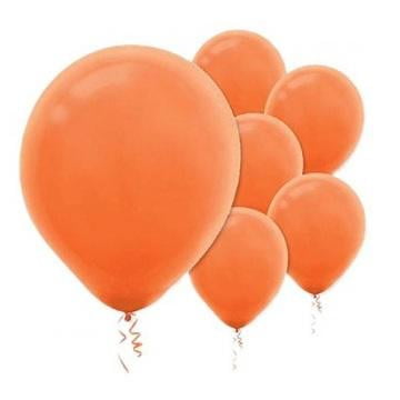 Amscan | Value Balloons Pack of 15 - Orange Peel