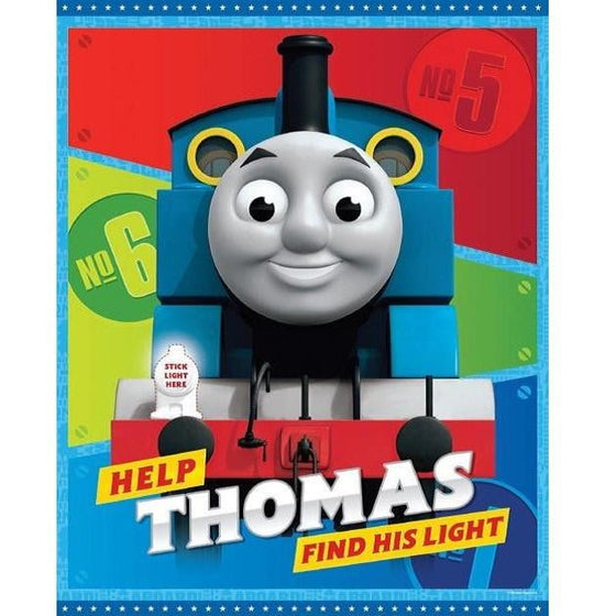 Artwrap | Thomas the Tank Engine All Aboard Party Game | Trains Party Theme & Supplies