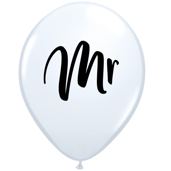 Qualatex | Mr Balloon | Wedding Balloons