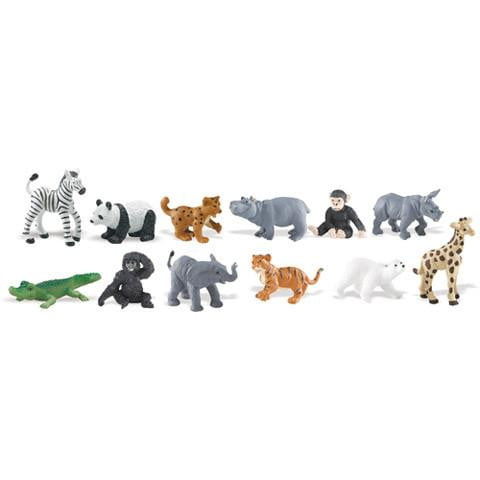 Zoo Baby Figurines