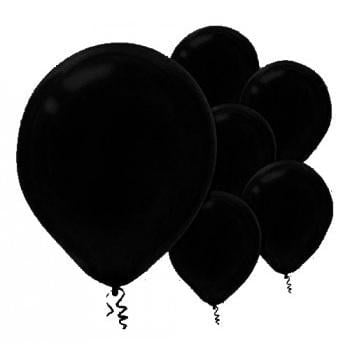Amscan | Value Balloons Pack of 15 - Black
