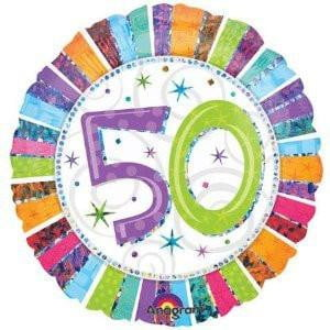 50th Birthday Balloon | 50th Birthday Party Supplies