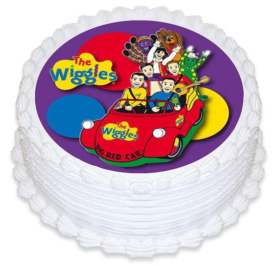 The Wiggles Edible Cake Image
