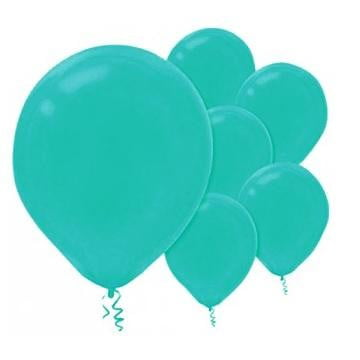 Amscan | Value Balloons Pack of 15 - Robins Egg Blue